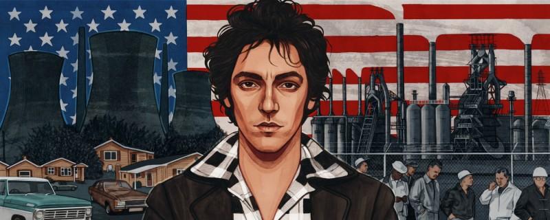 Bruce Springsteen by Helen Green