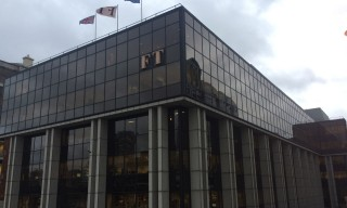 The Financial Times HQ in London