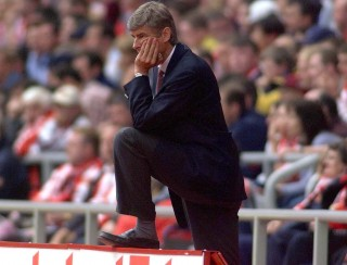Arsenal manager Arsene Wenger watches his team during a 0-0 draw against Sunderland at The Stadium of Light.