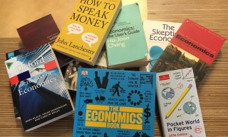 A selection of books on economics