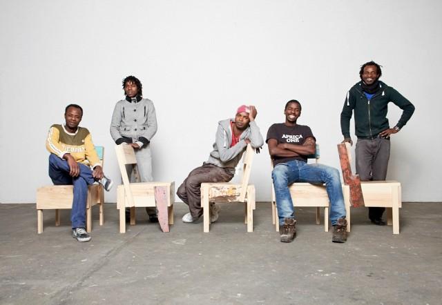 Cucula Trainees: Ali Maiga Nouhou, Djáè Dabo, Malik Agachi, Moussa Usuman, and Saidou Moussa