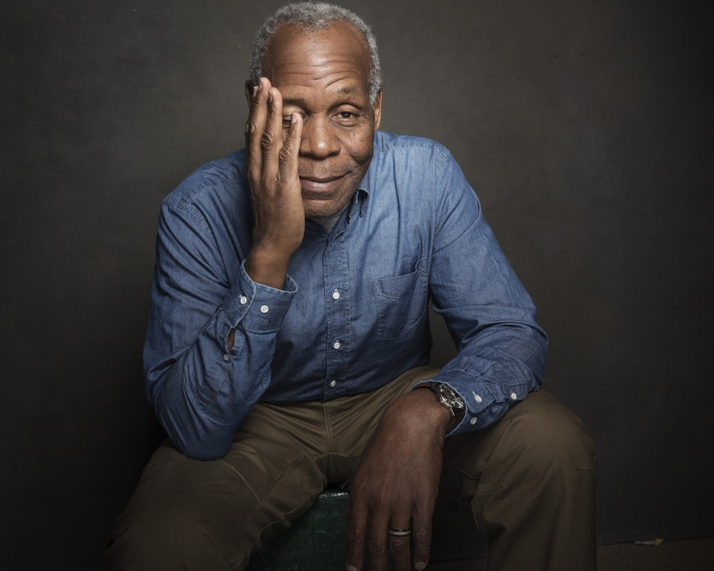 The actor and campaigner Danny Glover