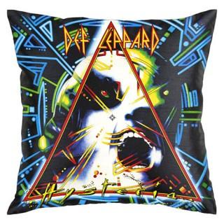 A Def Leppard pillow