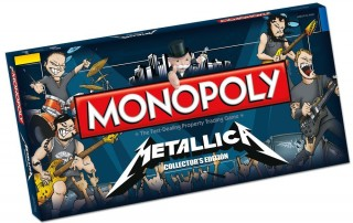 A box of Metallica Monopoly