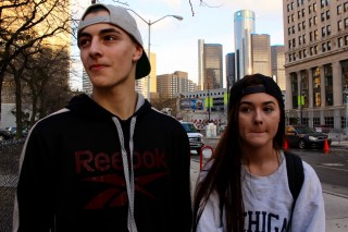 Two US voters speak to Economy Asks in Detroit