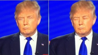 Replaced Trumps eyes with his mouth...it doesn't look any different - Imgur