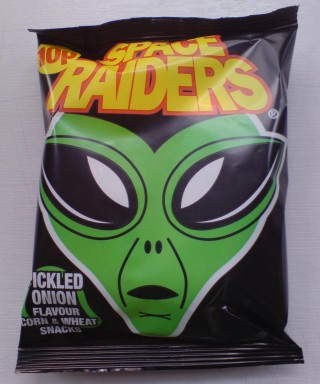 A packet of KP Space Raiders