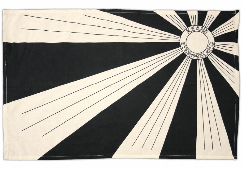 Keane tea towel