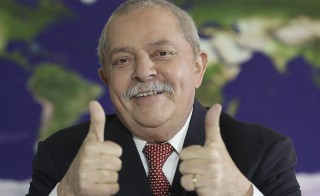 Brazil's former President, Luiz Inacio Lula da Silva