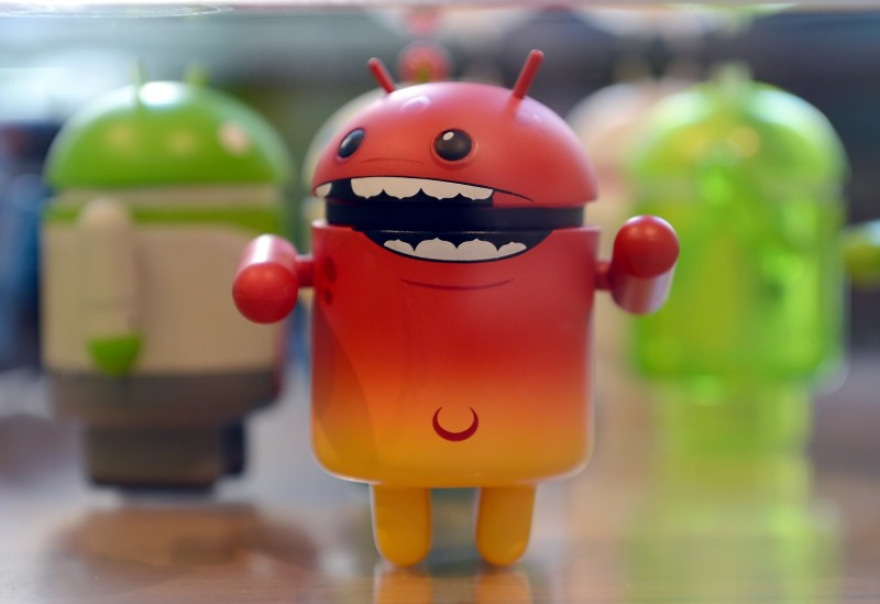 A mini Android toy