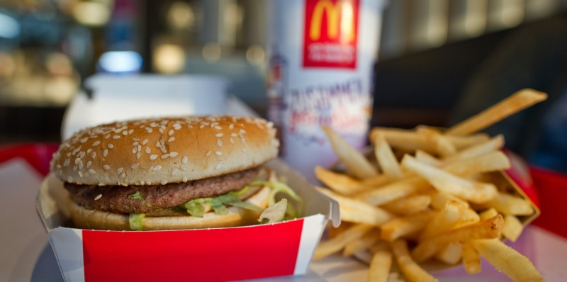 McDonald's Big Mac and fries