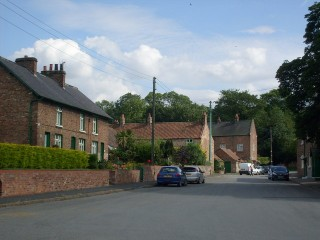 A street in West Heslerton