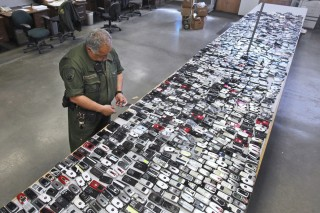 California Prisons Cell Phones
