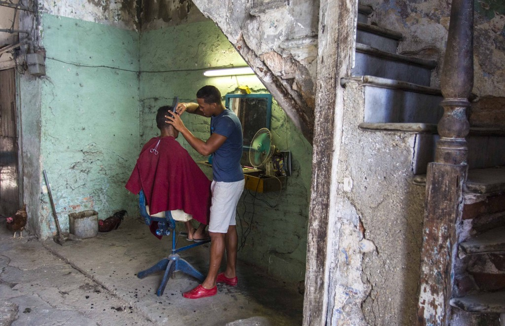 Cuban Hairdresser