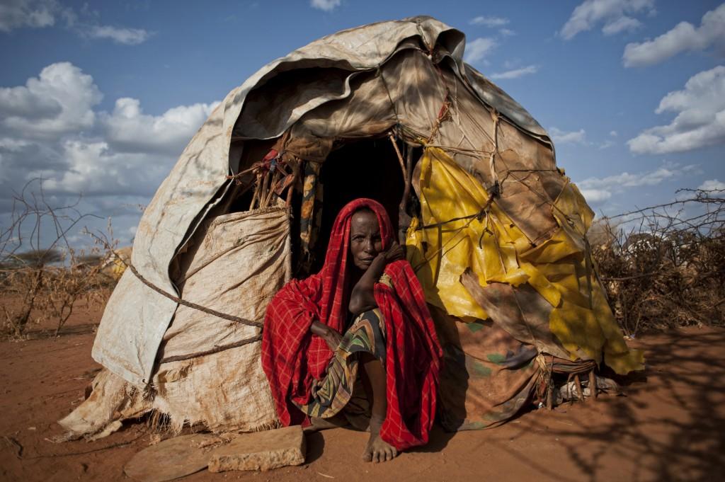 Hawo Aden, a refugee at Dadaab camp in Kenya