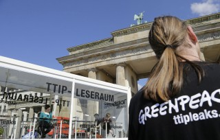 TTIP reading room in Berlin