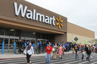 A Walmart store in the US