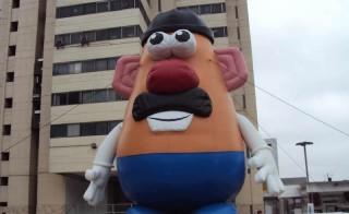 A giant Mr Potato Head