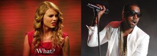 Taylor Swift and Kanye