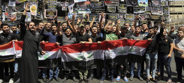 Protests against ISIS in Baghdad