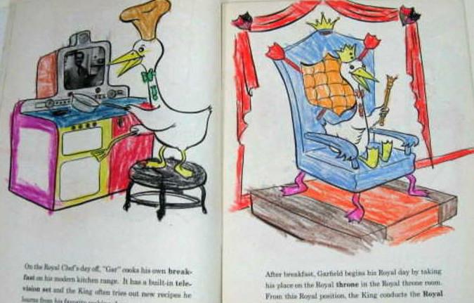 A coloring book