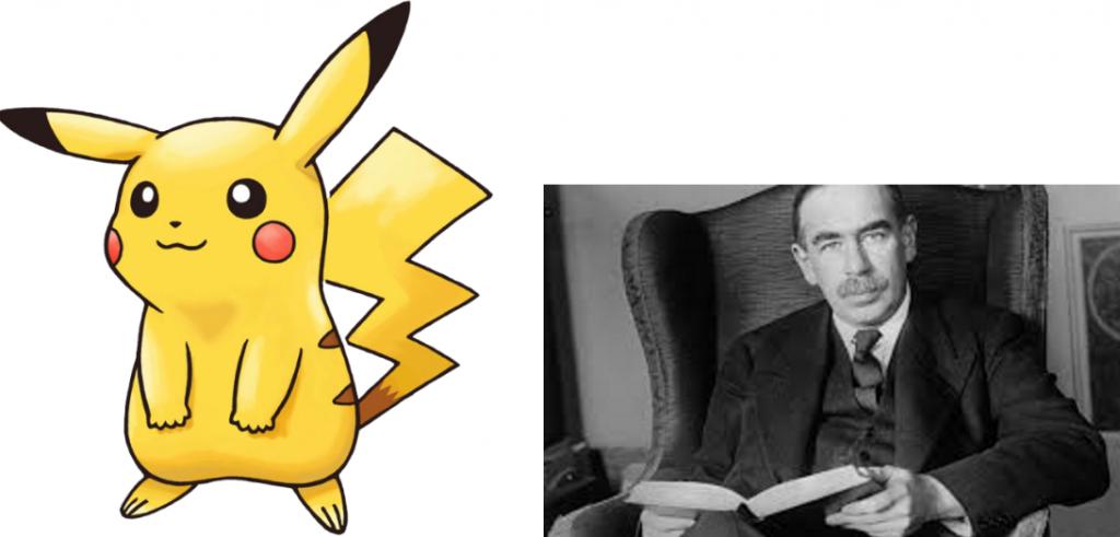 Pikachu and John Maynard Keynes