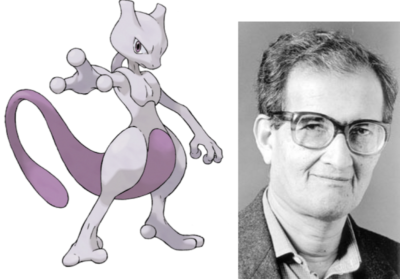 Mewtwo and Amartya Sen