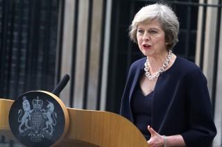 New British Prime Minister Theresa May