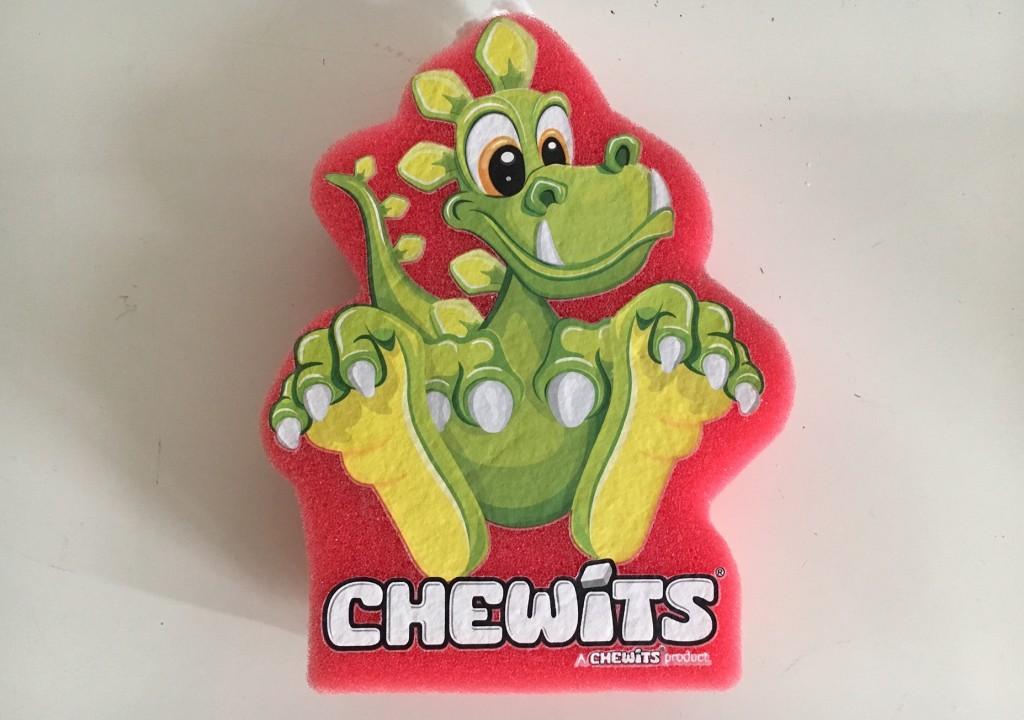 A Chewits bath sponge