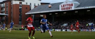 A football match at Leyton Orient