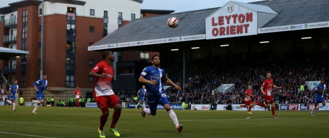 A football match at Leyton Orient