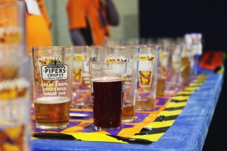 Pints of beer at Great British Beer Festival