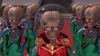 The martians from Mars Attacks