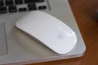 An Apple mouse