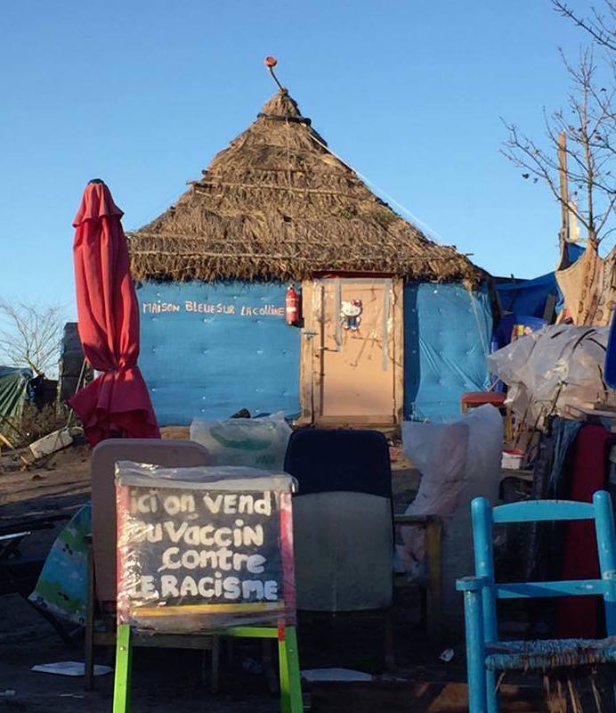 The Calais refugee camp
