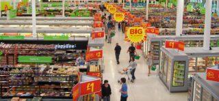 A supermarket