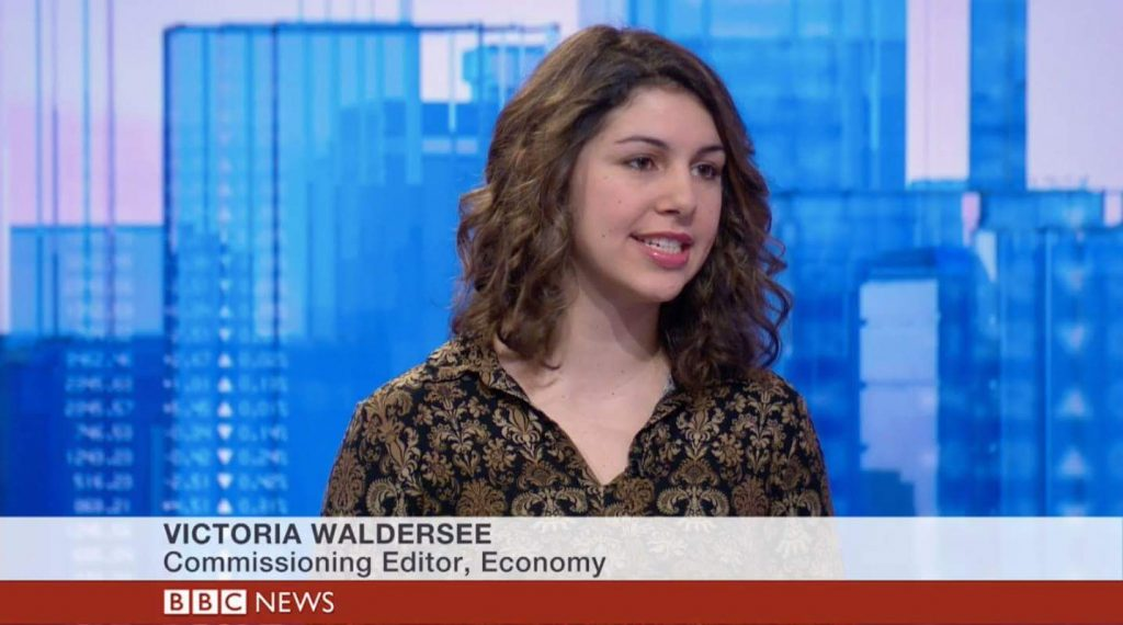 Victoria Waldersee, BBC World, 8th March 2017