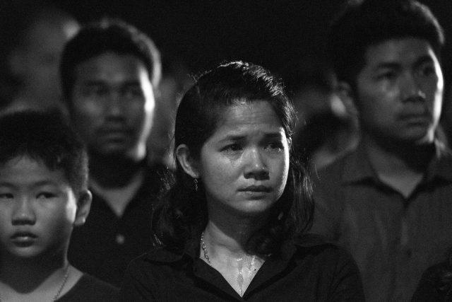 Mourner in Thailand