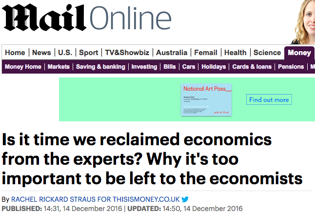 Daily Mail mention