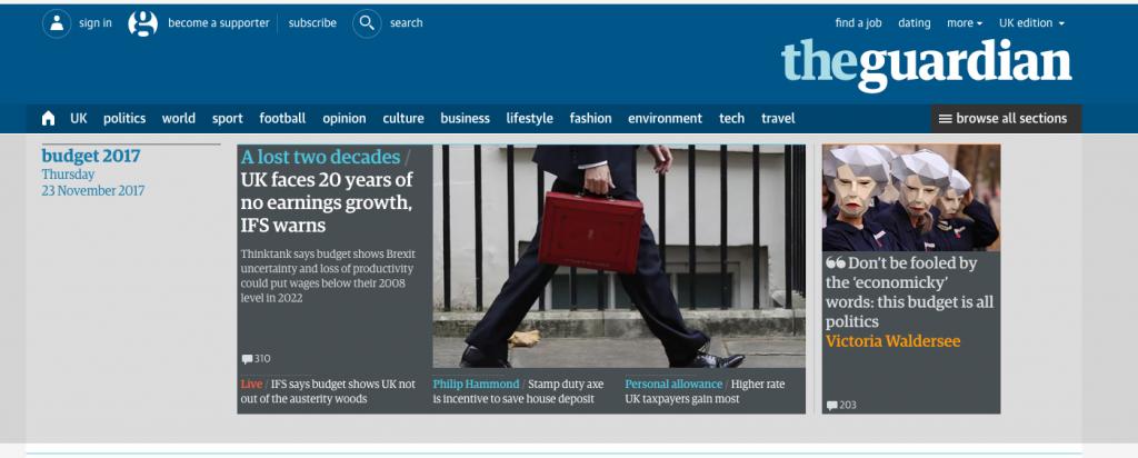 The Guardian 23 November