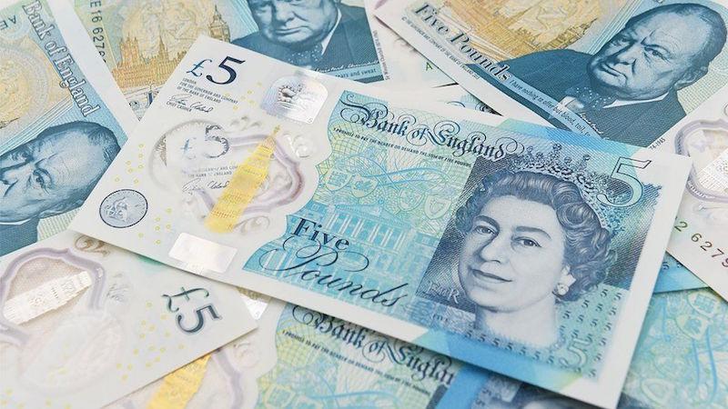 A five pound note