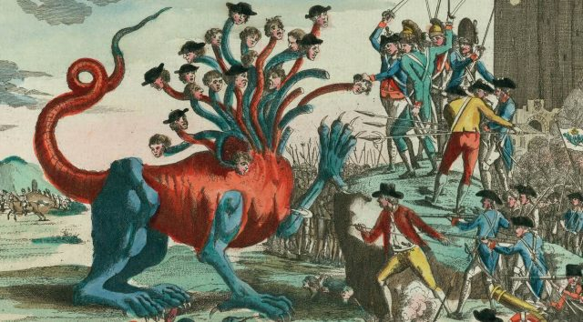 The French Revolution cartoon