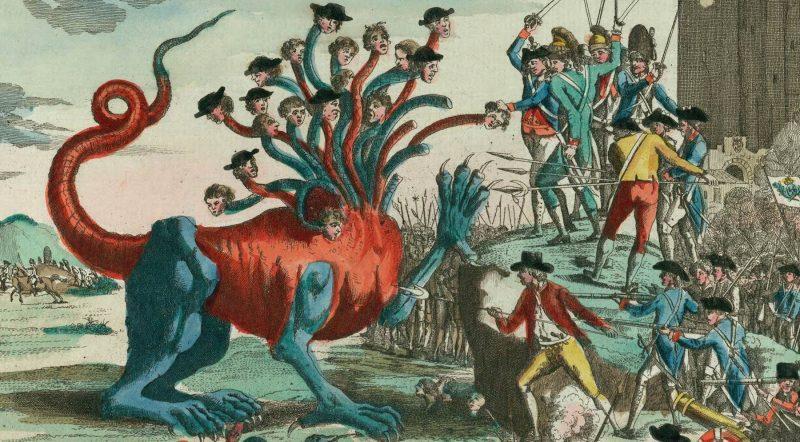 The French Revolution cartoon