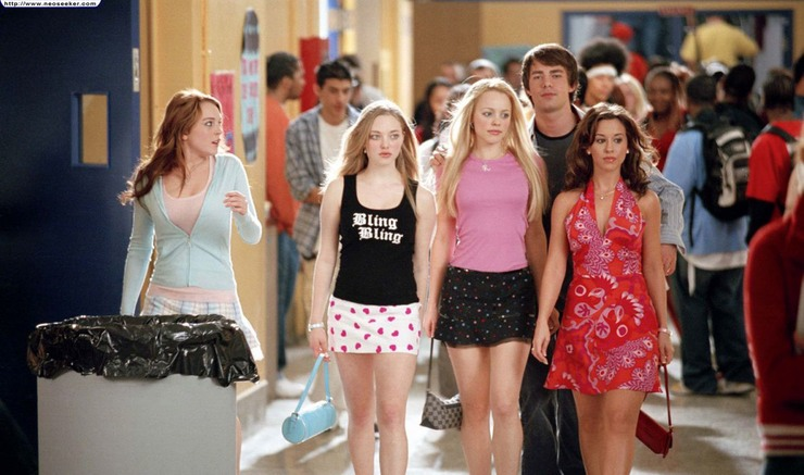 Mean Girls poster.