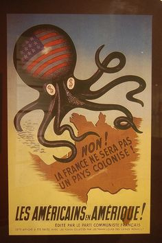 American octopus attacks France