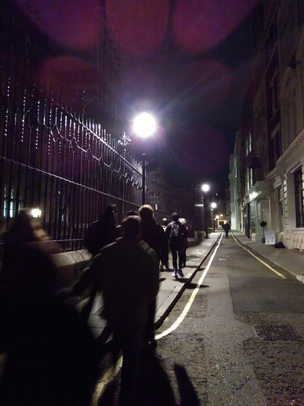 The Blood and Tears Walk sets off in London.