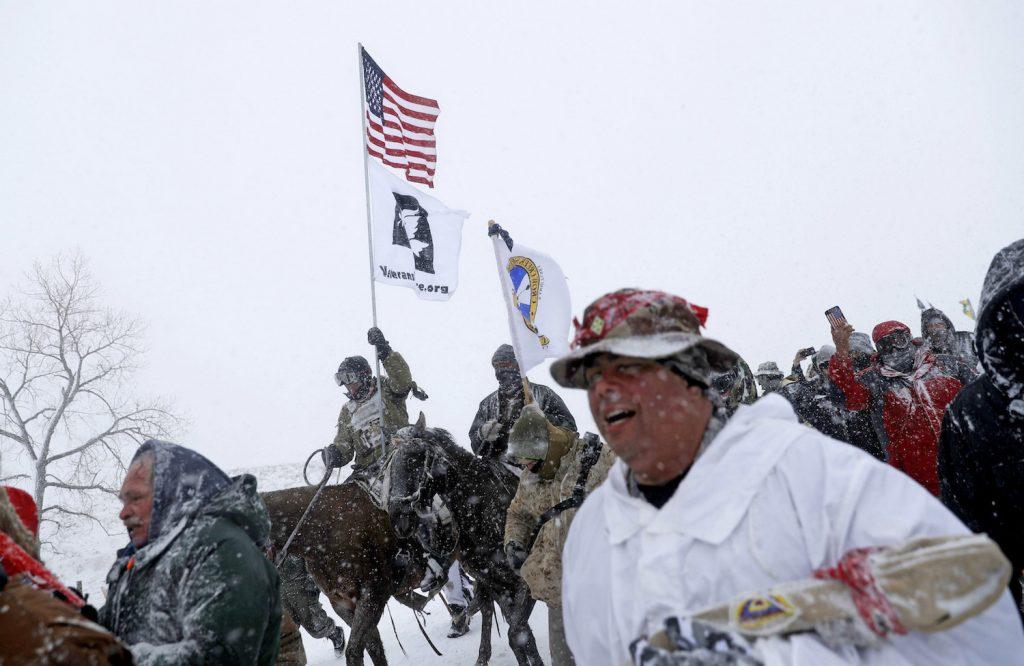 Oil Pipeline Protest