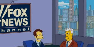 Fox studio from the Simpsons