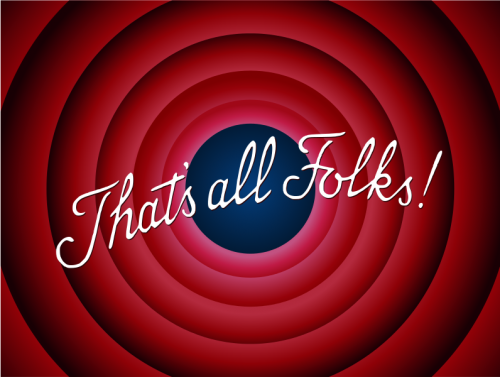 That's All Folks –Looney Toons image.