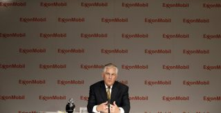 Rex Tillerson, former CEO of ExxonMobil, current Secretary of State.